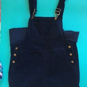 Denim - Navy blue overalls